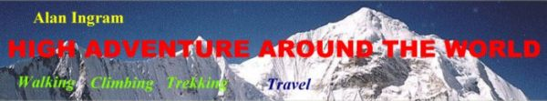 Worldwide mountaineering and adventure travel - articles, photographs, information, maps, books, gear, services